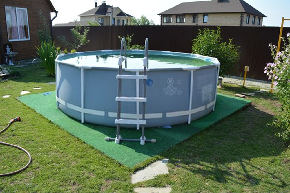 How to Set up Intex Pool on Uneven Ground